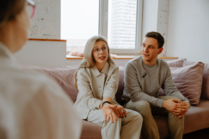 couple in relationship counseling